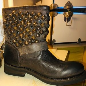 ASH TITANIC BOOT - SIZE 8 - Brown
